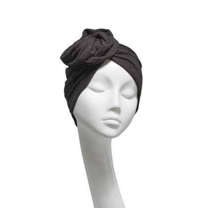 Nerida Fraiman - Stretch fine wool jersey Rose daywear turban