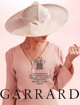Nerida Fraiman - Garrard collaboration for Royal Ascot