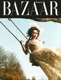 Nerida Fraiman - Helena Bonham Carter, Harper's Bazaar