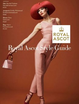 Nerida Fraiman - Large brim straw sunhat, Royal Ascot Style Guide