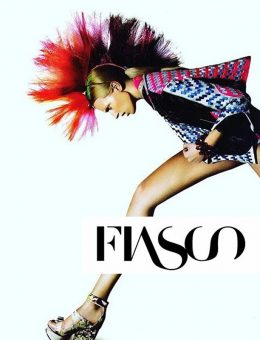 Nerida Fraiman - Showstopper mohawk designer headpiece, Fiasco