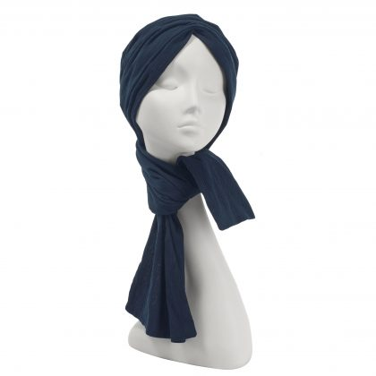 Nerida Fraiman - Pleated Japanese pure cotton multiway wrap hijab